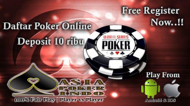 Daftar Poker Online Deposti 10rb Bank BCA