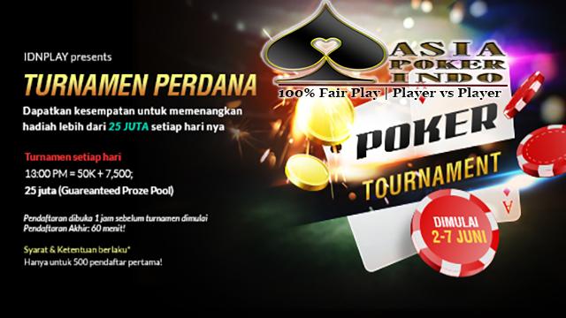 Turnamen Asia Poker Cup 2017