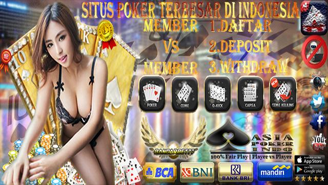 Situs Agen Poker Asia Terbesar Dan Terpercaya Indonesia