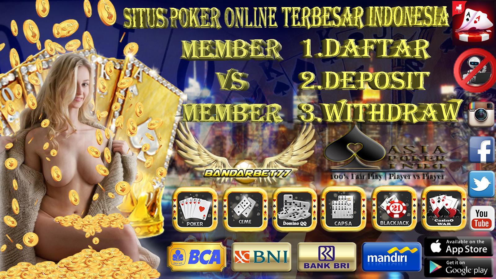 Situs Daftar Poker Online Terbersar Dan Terpercaya Indonesia